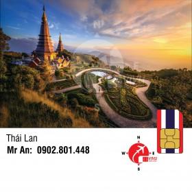 Sim du lịch Thái Lan AIS